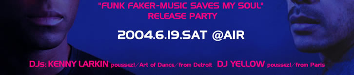 "DARK COMEDY ""FUNK FAKER - MUSIC SAVES MY SOUL"" release party"